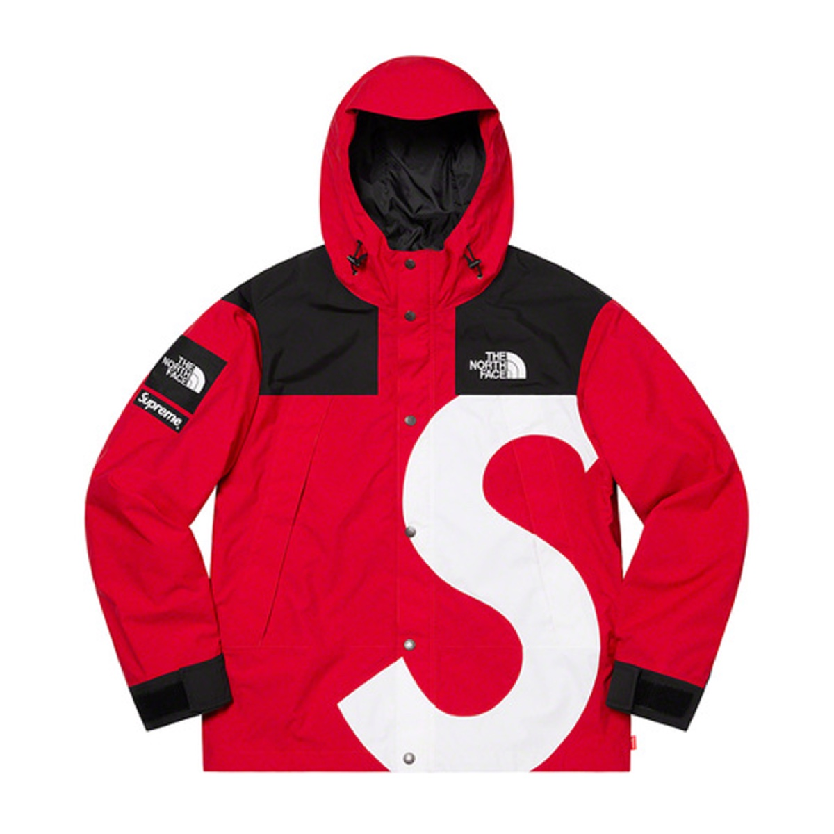 Supreme The North Face S Logo Mountain Jacket Red