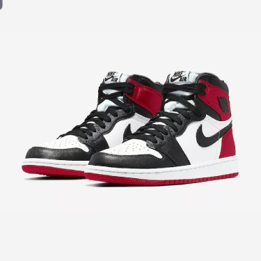 Nike Air Jordan 1 Retro High OG W Black Toe Satin