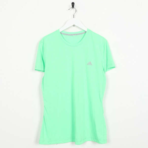 Vintage Women's ADIDAS Small Logo T Shirt Tee Green | Large L