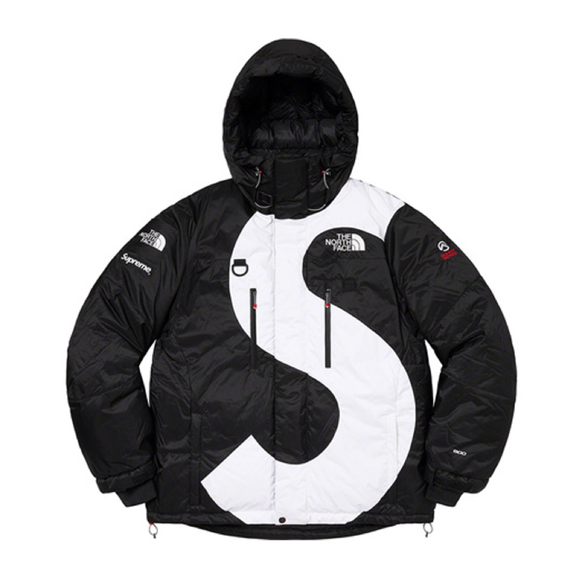Supreme The North Face S Logo Himalayan Parka Black
