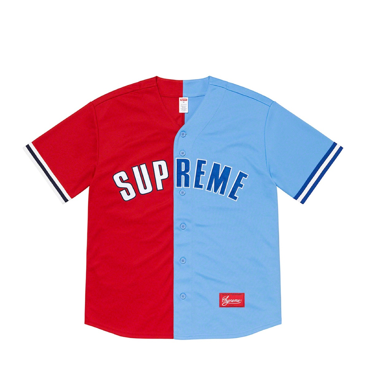 Supreme Don't Hate Baseball Jersey Red