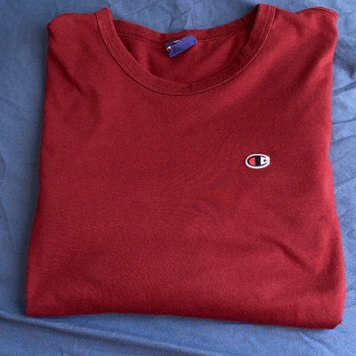 Champion Authentic Long Sleeve Tee Maroon
