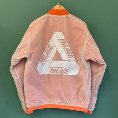 Palace Reversible Overlay Bomber Orange