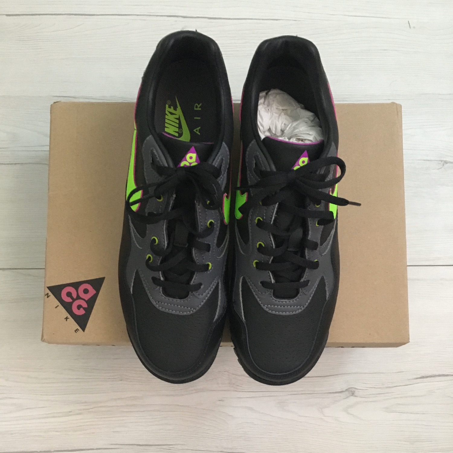 Air Wildwood ACG Black Electric Green