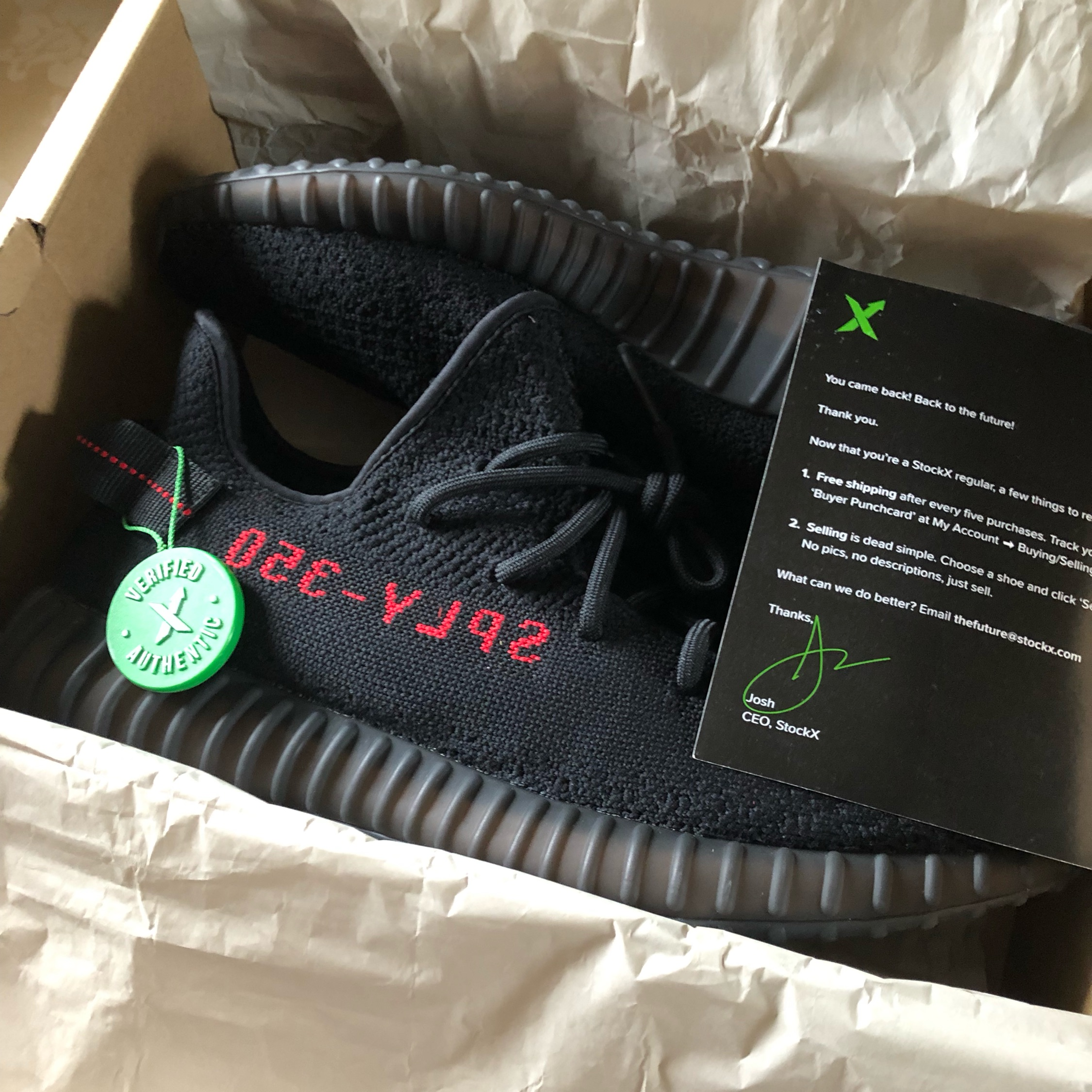 quality design ded38 d2bb8 Adidas Yeezy Boost 350 V2 Bred Uk11