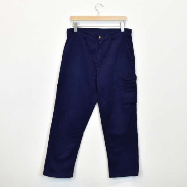 Vintage Portwest cargo pants joggers bottoms  trousers in dark blue