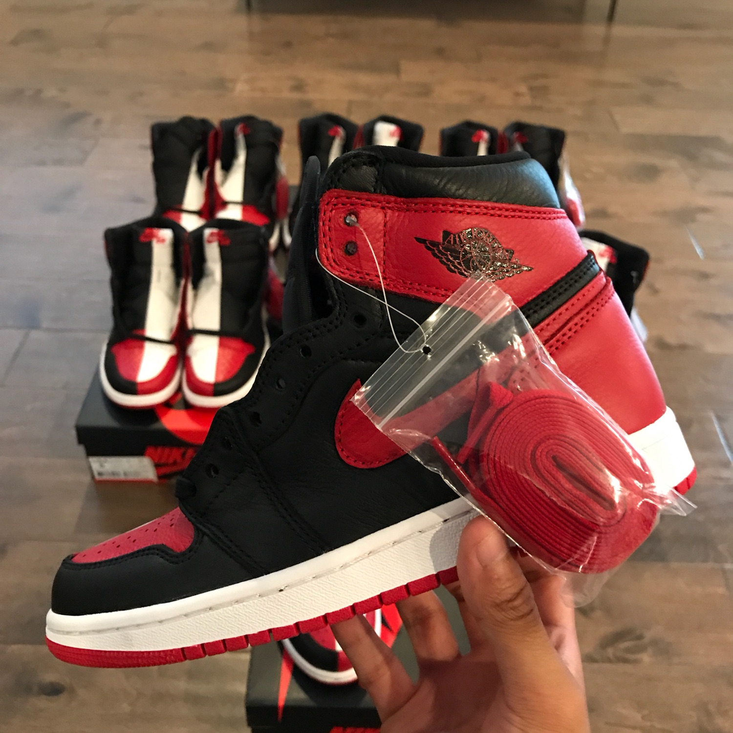 uk availability 85fc0 f12f2 Air Jordan 1 Homage To Home Size 6
