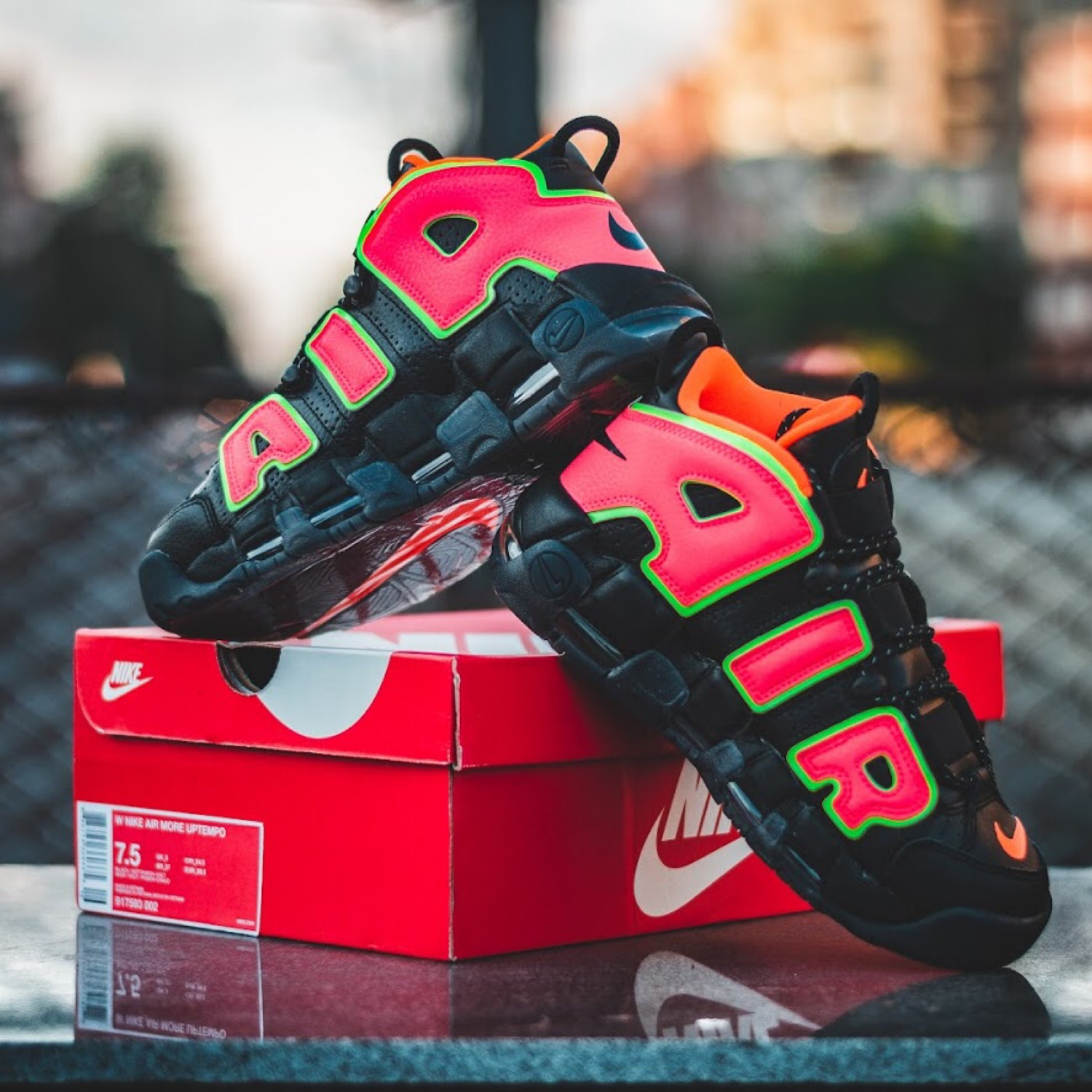 Nike Air More Uptempo (Hot Punch)