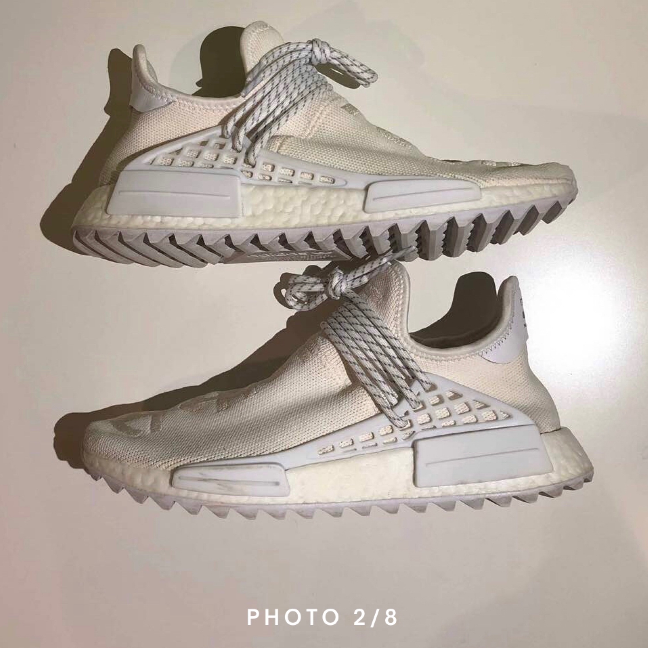 quality design 812e5 8ded0 Pharrell X Nmd Human Race Trail 'Blank Canvas'