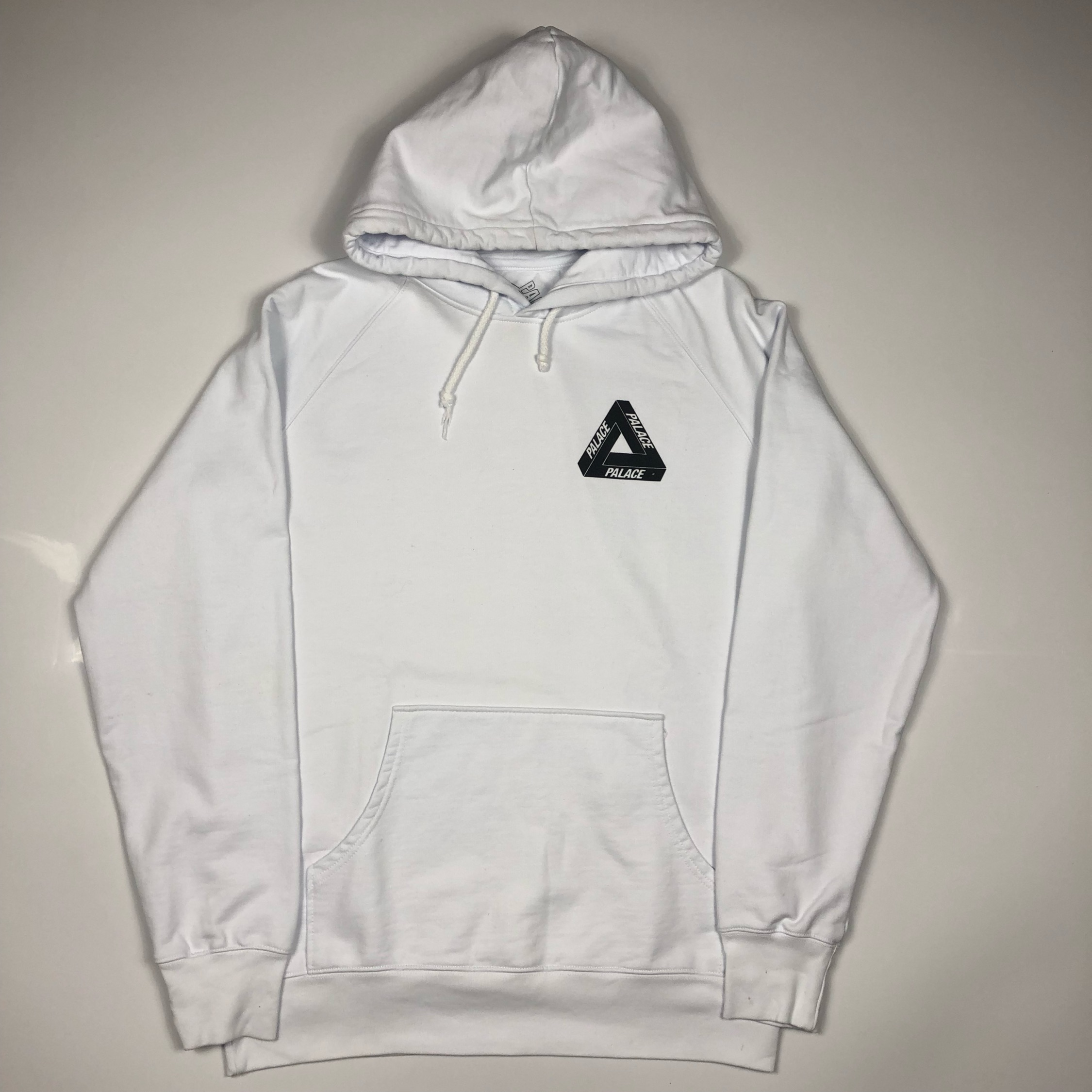 Palace Og Tri Ferg Hoodie Large New With Defects
