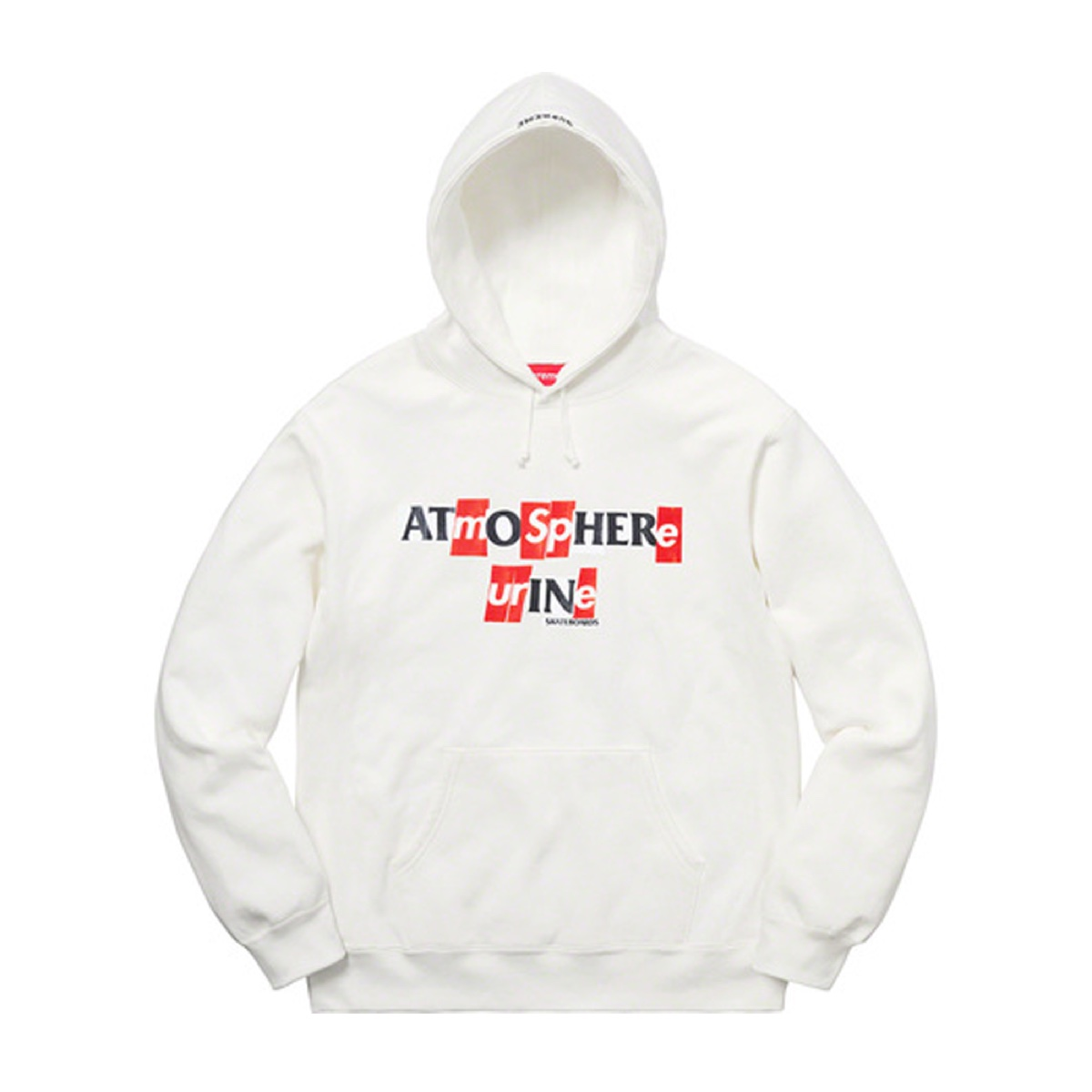 Supreme ANTIHERO Hooded Sweatshirt White