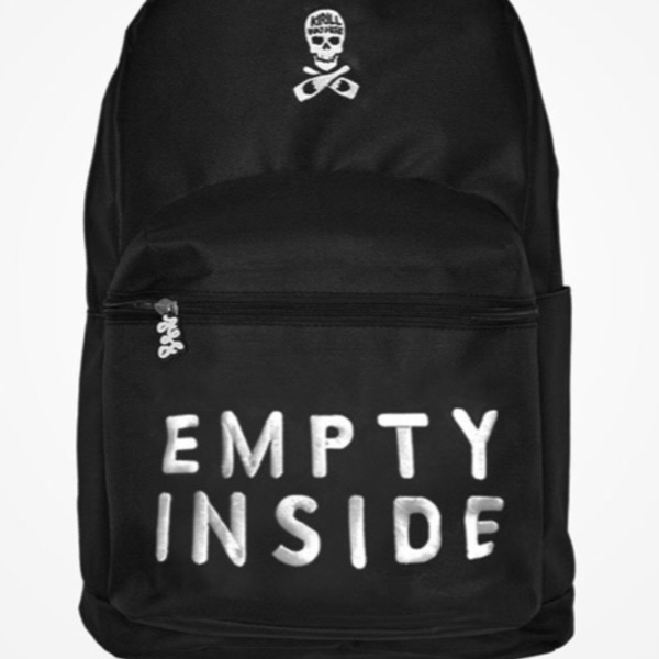 "Alf ""Empty Inside"" Backpack (Black) From Nov. Drop"