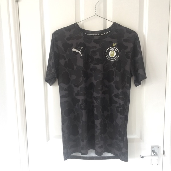 Bape X Puma Football Top