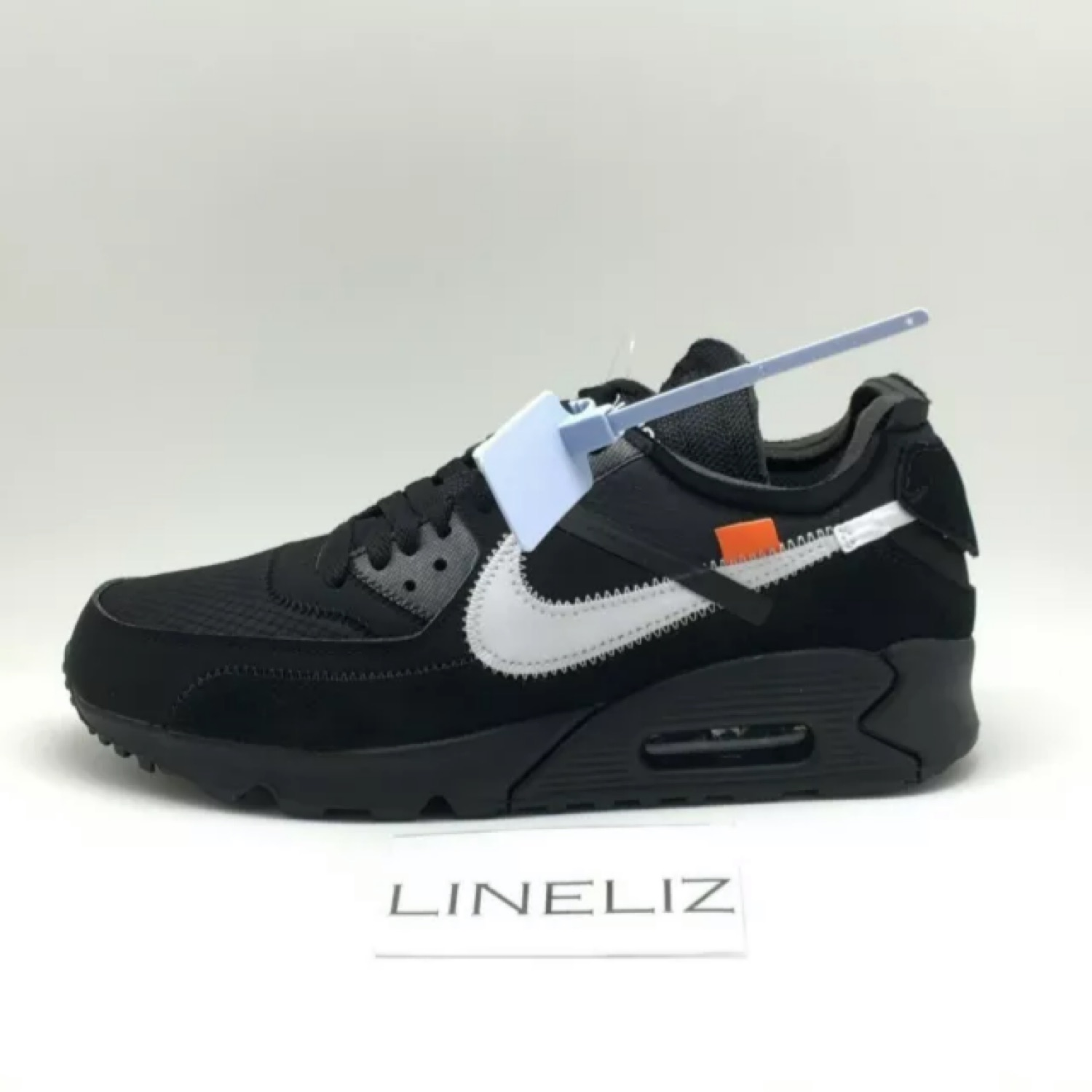best service bd36a 00e5b Nike X Off White Air Max 90 Black