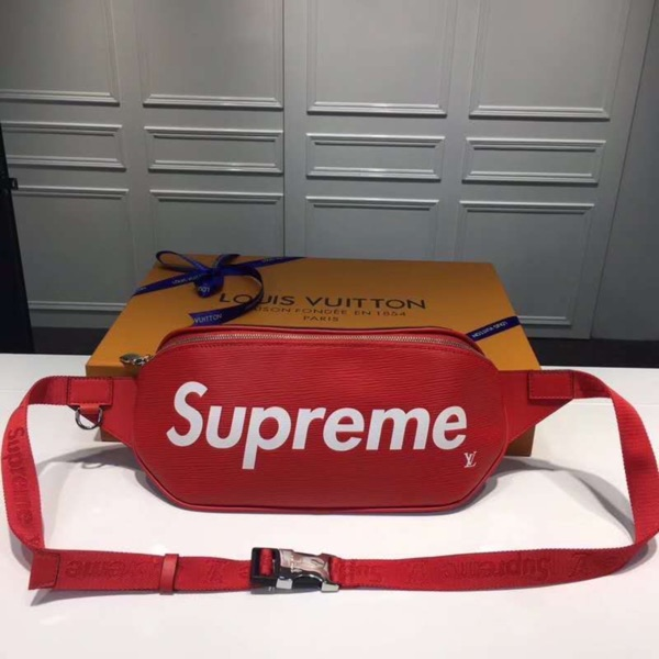 Supreme X Louis Vuitton Bumbag Red 2017