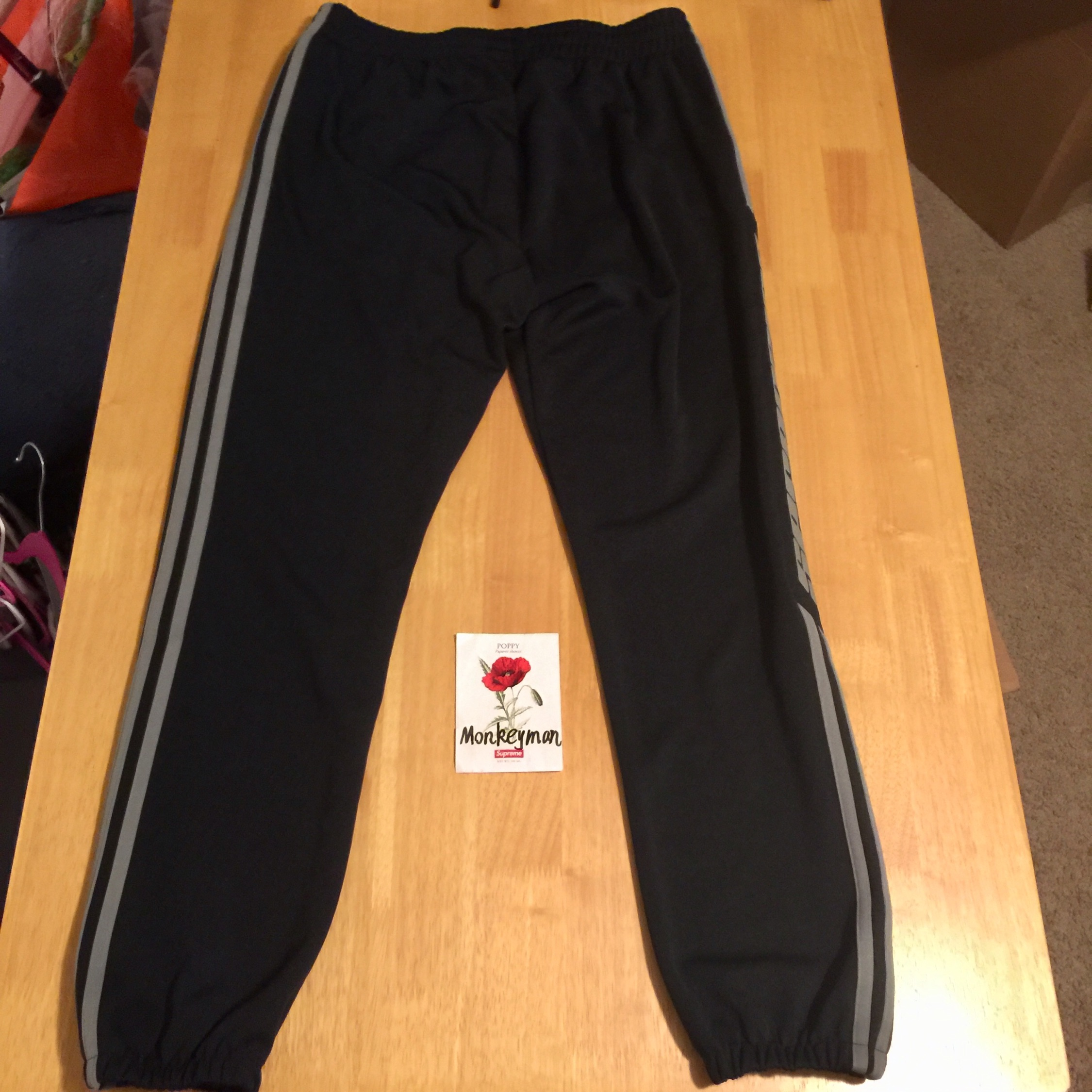 Mosque Discipline Shed  Adidas Yeezy Calabasas Track Pants Black/Grey M