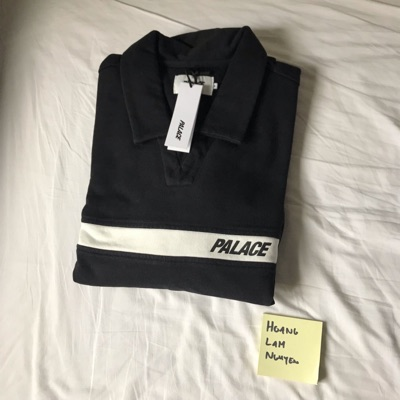 Palace Jersey Drill Top Black