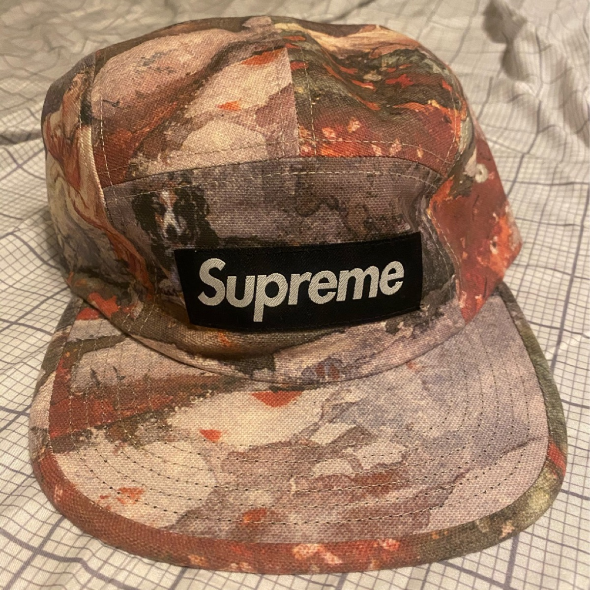 Supreme Afternoon Camp Cap Multicolor
