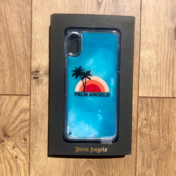 Palm Angles Liquid Sand Motion Iphone Xr Case
