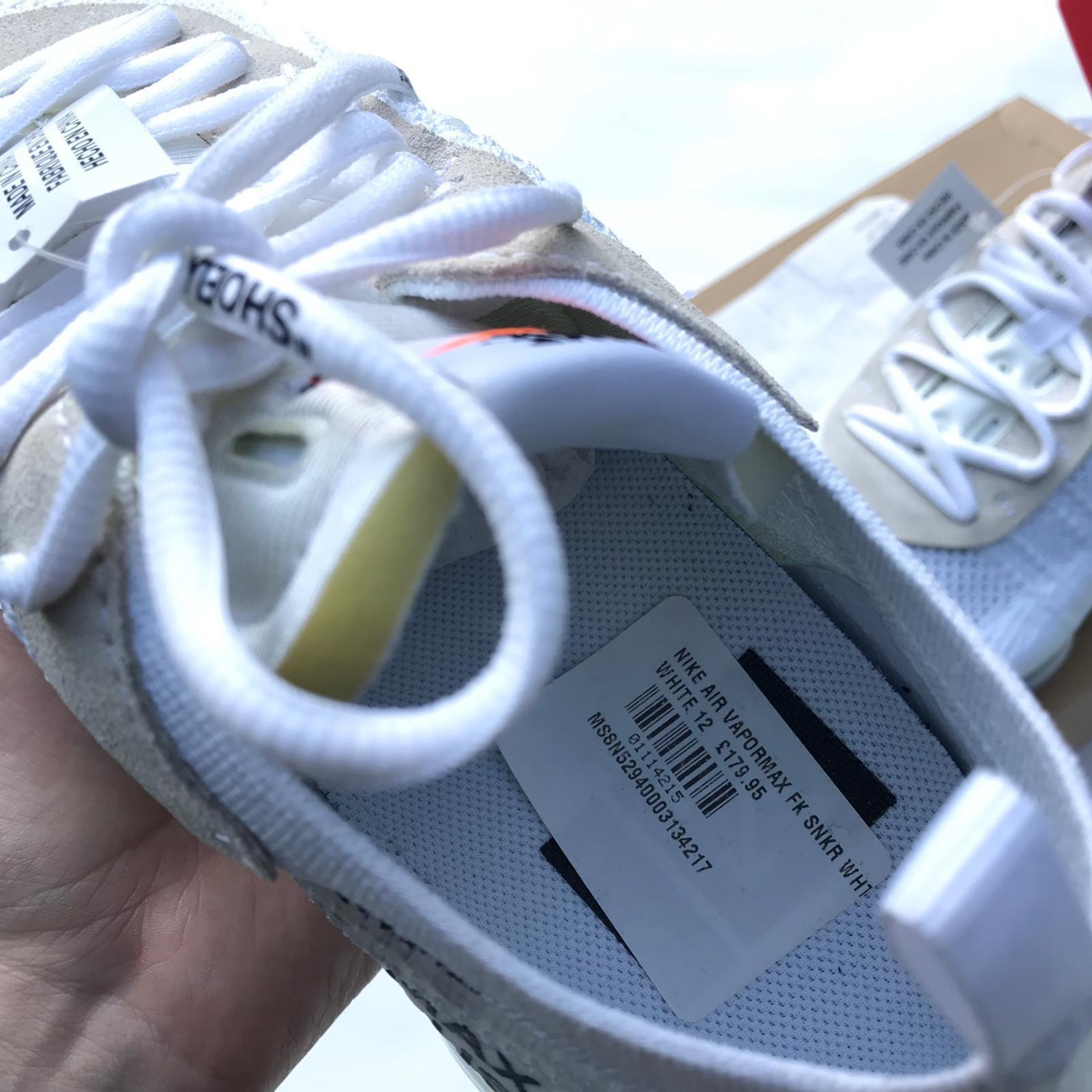 179 Best 12 OFF WHITE SCARPE images | Nike air vapormax