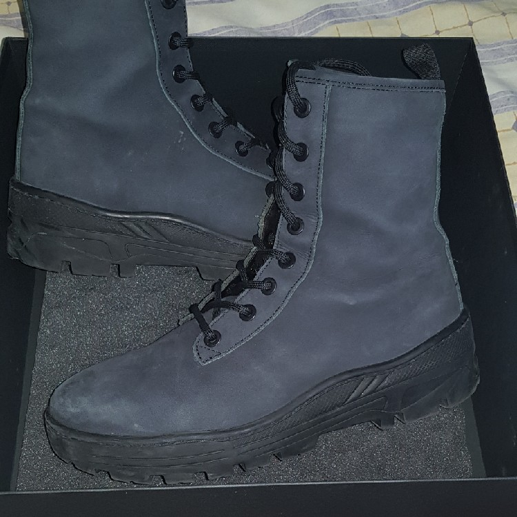 51bc0bd6399 Yeezy Season 5 Combat Boots Cond 9.5 10 Wear One Time
