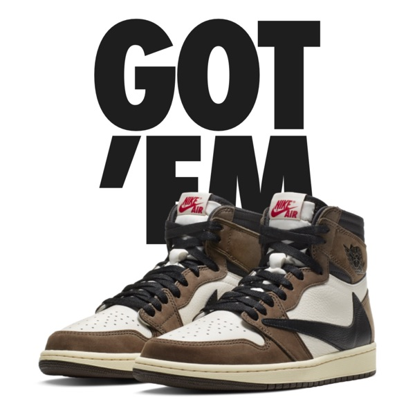 Jordan 1 Retro High Travis Scott Cactus Jack