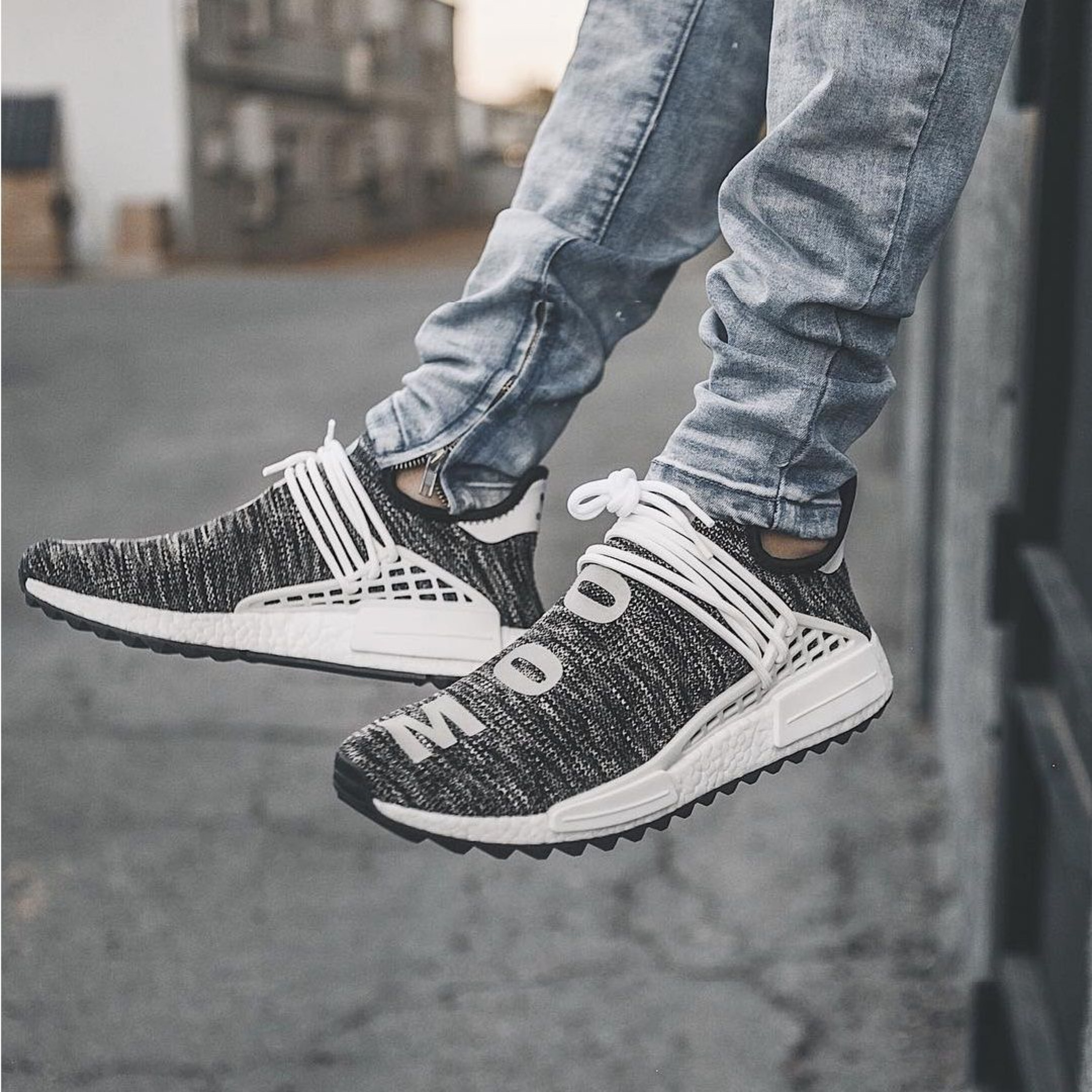 100% authentic ab279 9626d Adidas X Pharrell Nmd Human Race Trail (Oreo)