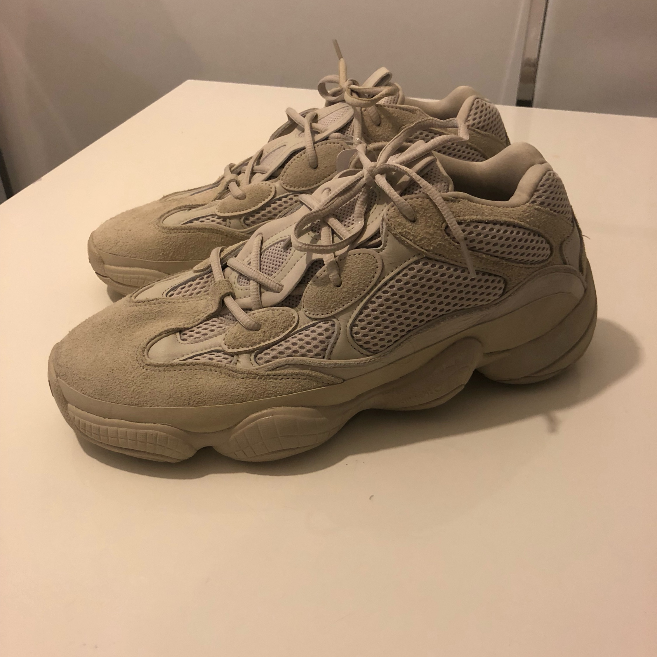 outlet store e1349 cdbf0 Adidas Yeezy 500 - Blush - Size 12.5 Uk