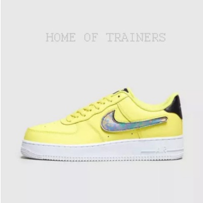 Nike Air Force 1 '07 Lv8 Yellow Silver