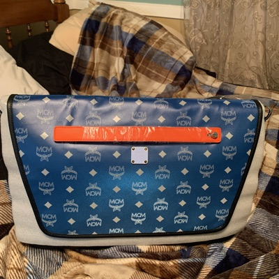 Mcm Messenger Bag Blue