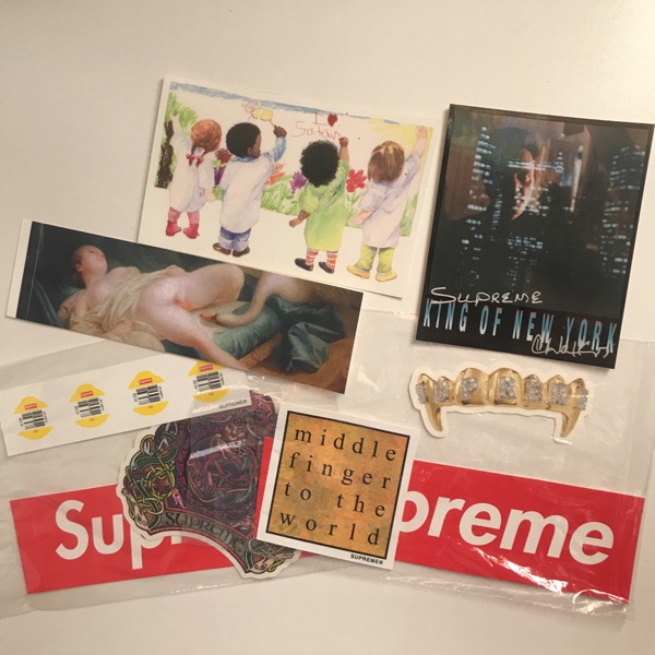 Ss19 Supreme Full Sticker Set