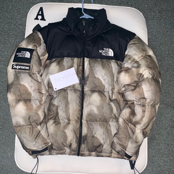 Supreme X The North Face Fur Jacket Large Rare