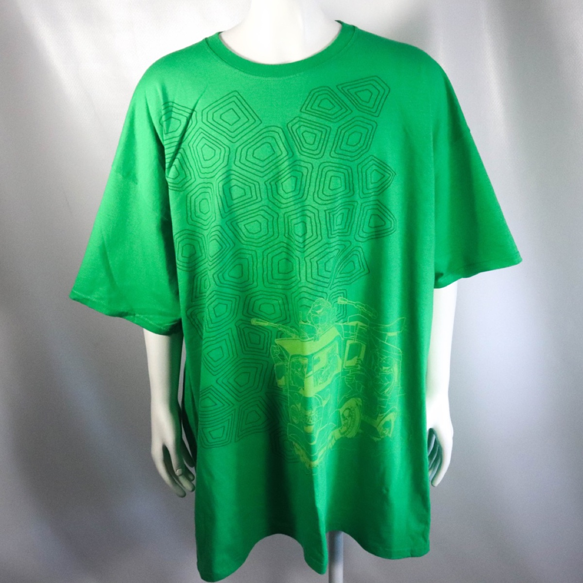 Green Lootwear Exclusive Teenage Mutant Ninja Turtles Short Sleeve T-Shirt Size 2XL
