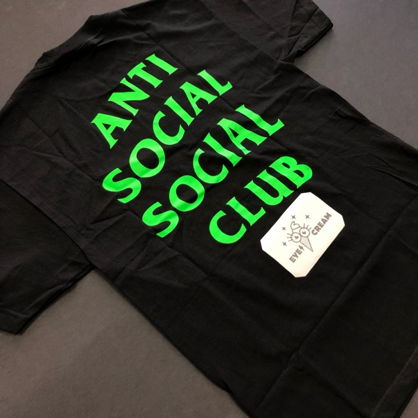 New Anti Social Social Club Assc Hated Tee Bape