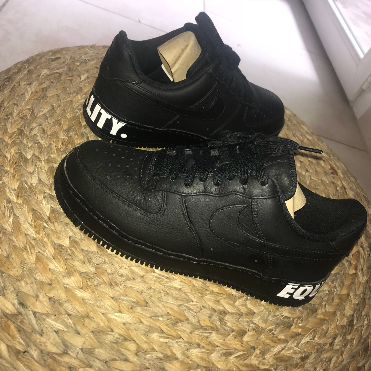 the latest 418de 556a8 Nike Air Force 1 Equality