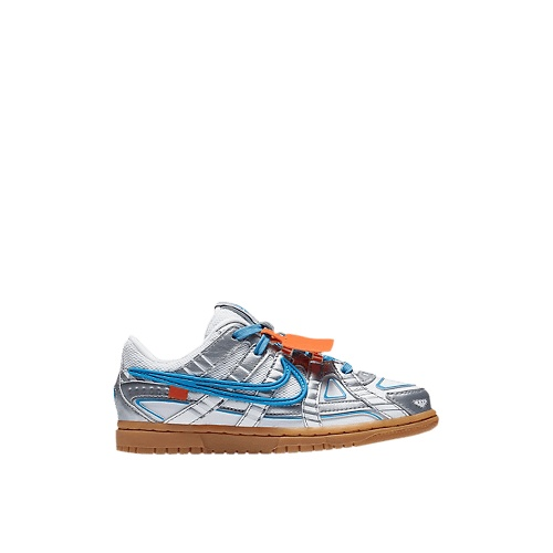 Nike Air Rubber Dunk Off-White University Blue (PS)