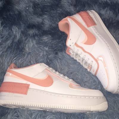 Nike Air Force 1 Shadow White Pink Quartz (W)