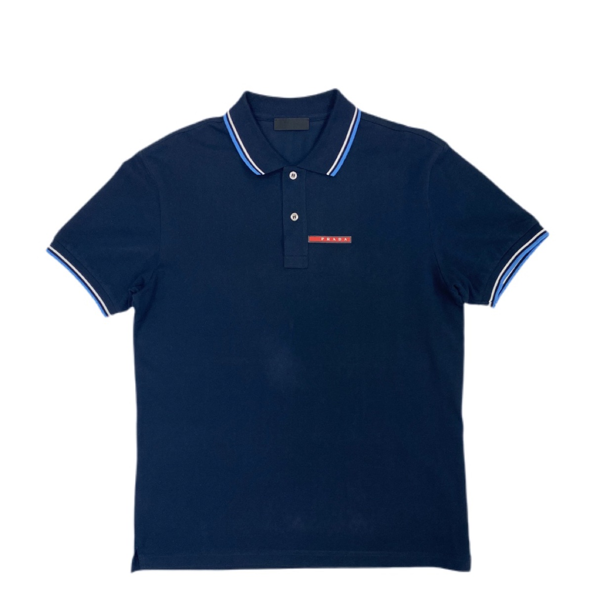 Prada navy polo
