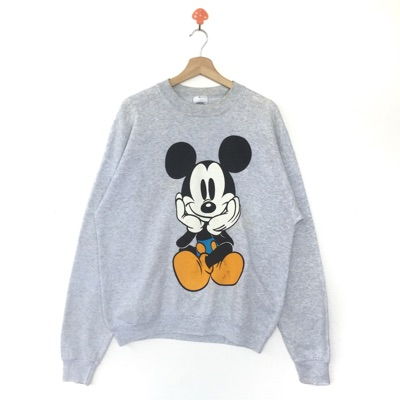 Vintage Mickey Mouse Cartoon Sweatshirt