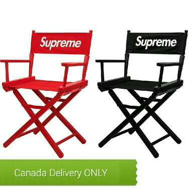 Supreme Director's Chair 'Red -