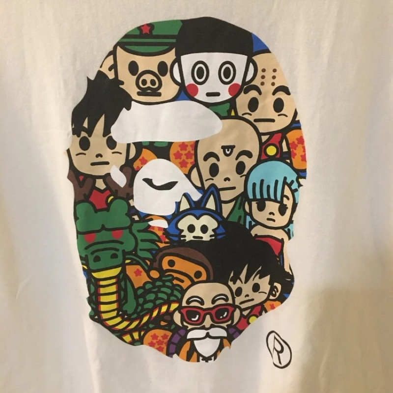 Bape Dragon ballz tee