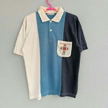Valentino Christy Shirt Polo Embroidery.