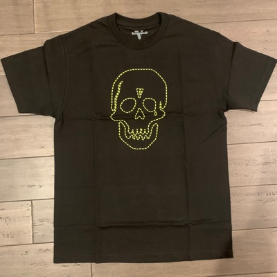 Vlone Neighborhood Green Skull Tee
