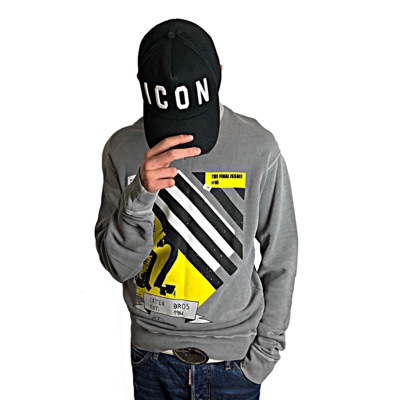 Dsquared2 Crewneck Grey Jumper