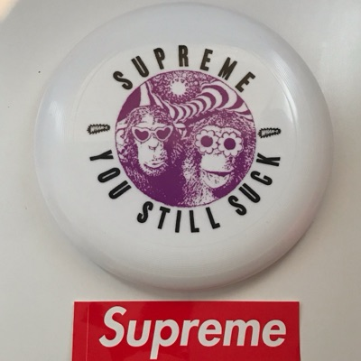 Ss16 Supreme Wham O You Still Suck Frisbee