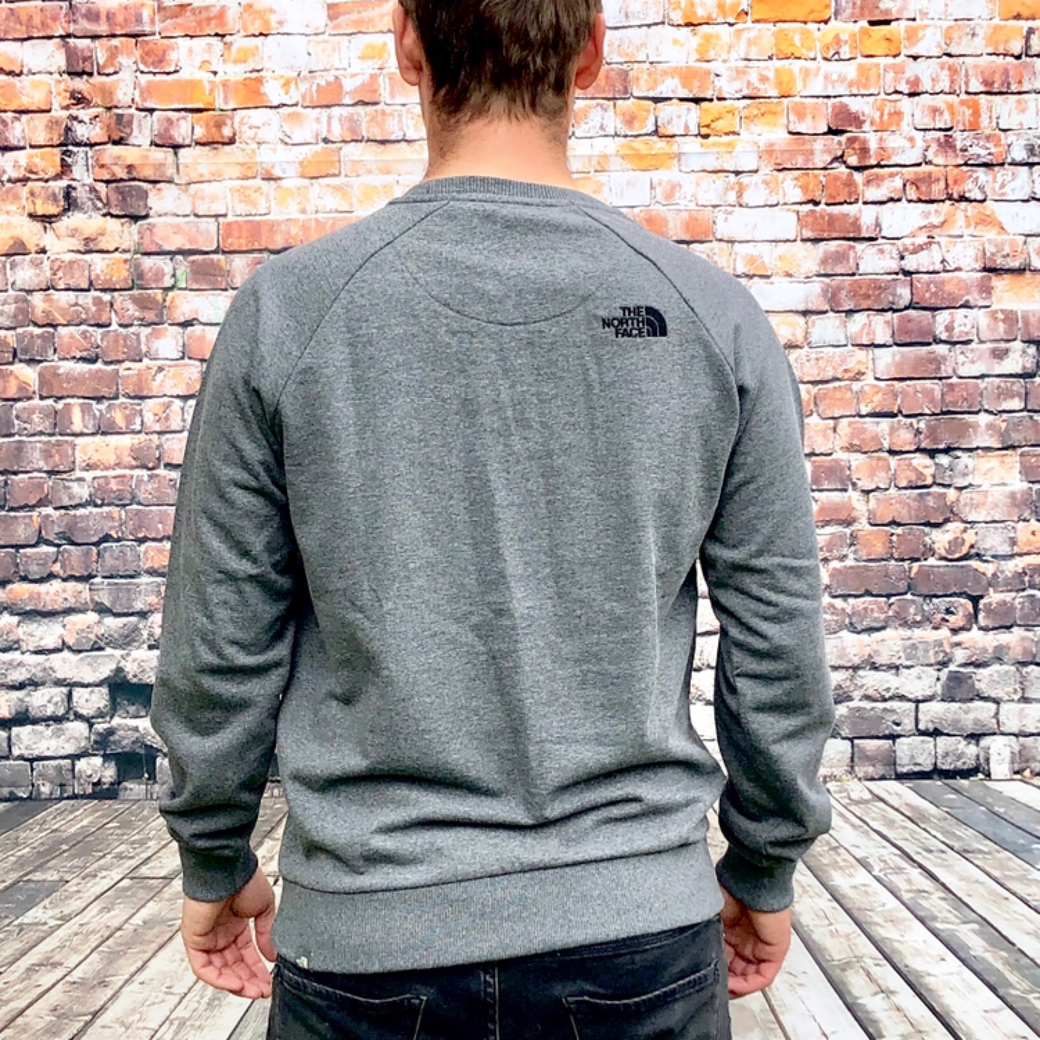 7acb41bbe Brand New Grey The North Face Jumper / Sweater