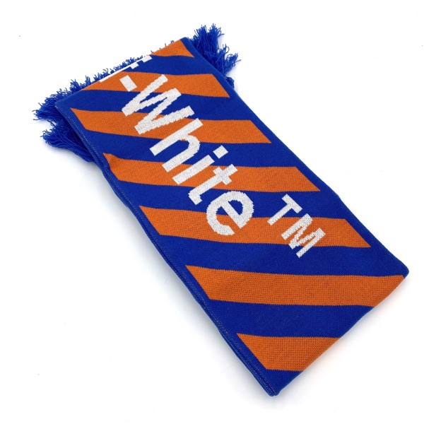 Off-White Virgil Abloh Contrasting Arrows Scarf
