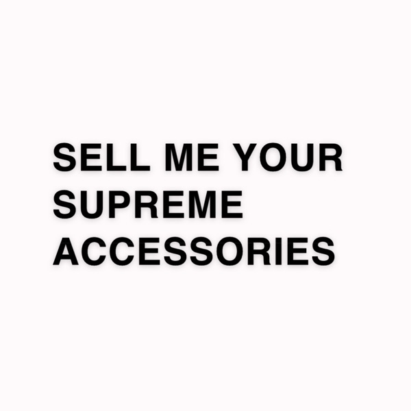 Wtb Supreme Accessories