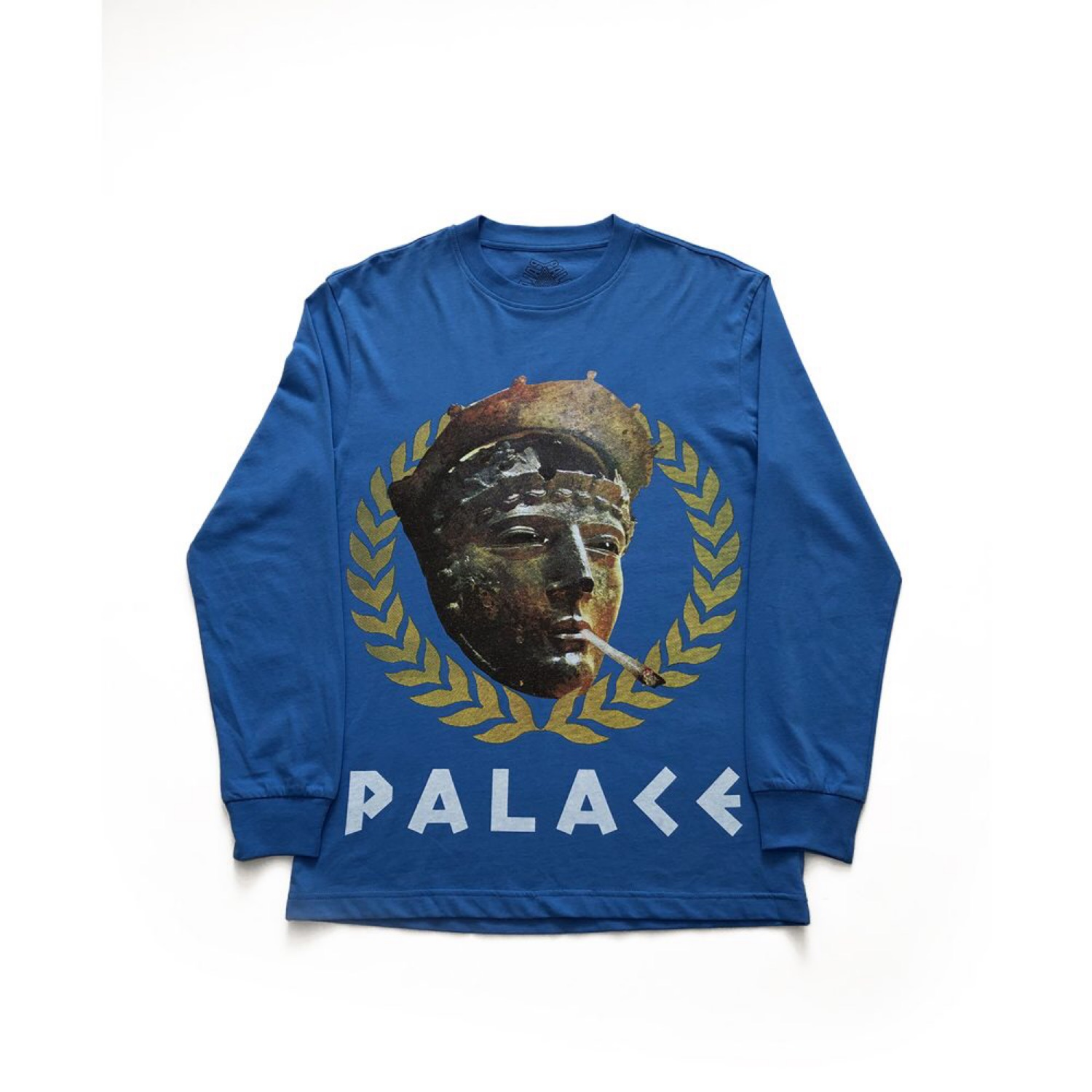 18d90d26 Palace Peaser Ls Tee Blue Size Small