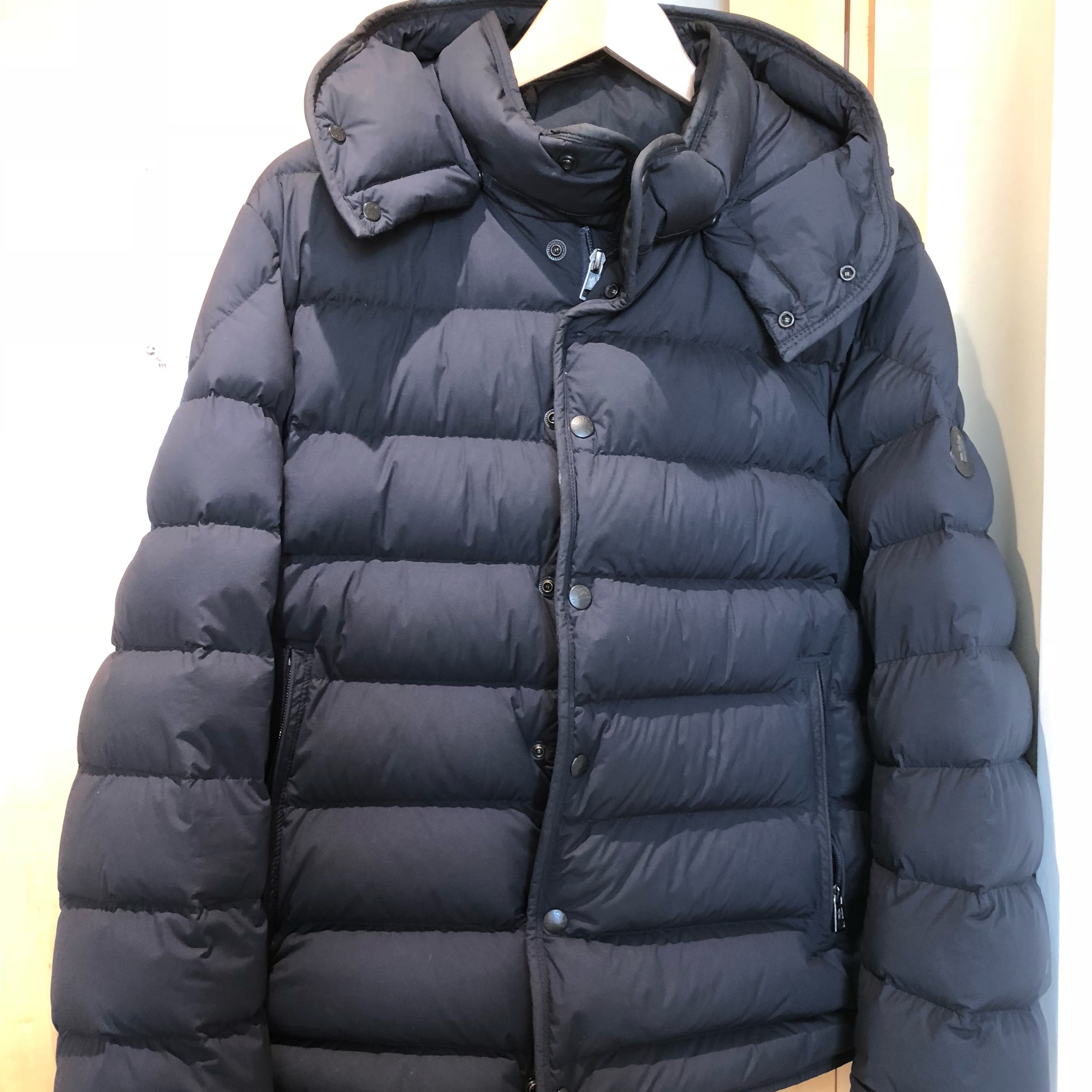 3afe43a10 Authentic Small Mens Moncler Navy Puffer Jacket